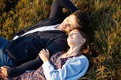 Paar genieten van buiten