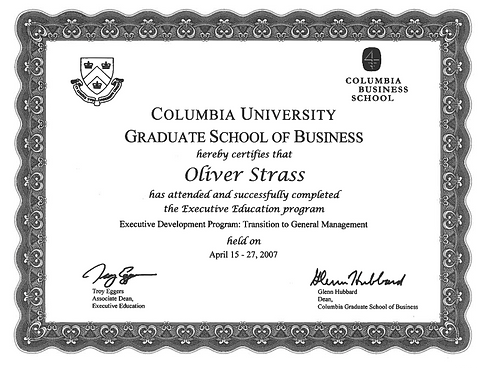 Certificate-Columbia-University-Oliver-S
