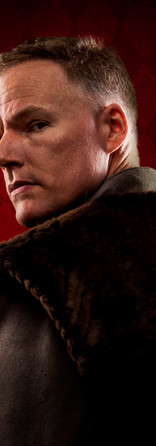 JASON WOODS as Thomas Cromwell in Wolf Hall