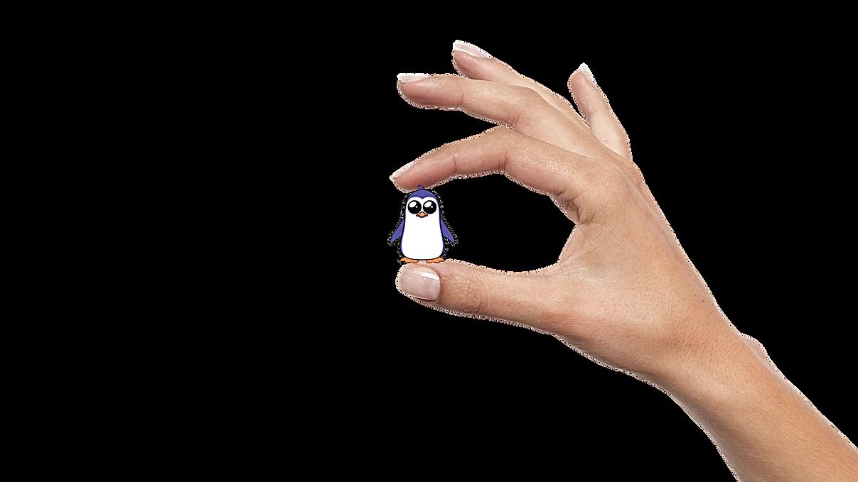 fingers holding penguin.png