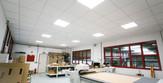 CREE LED panel tervező irodába