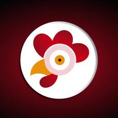 Range Chicken logo animation