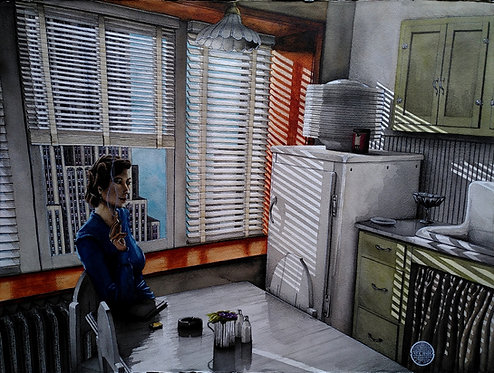 Laurent DEVIN - Fenêtre sur cour #2