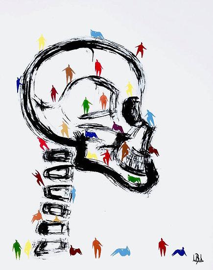 Lionel Borla - L'Humanité de Profil