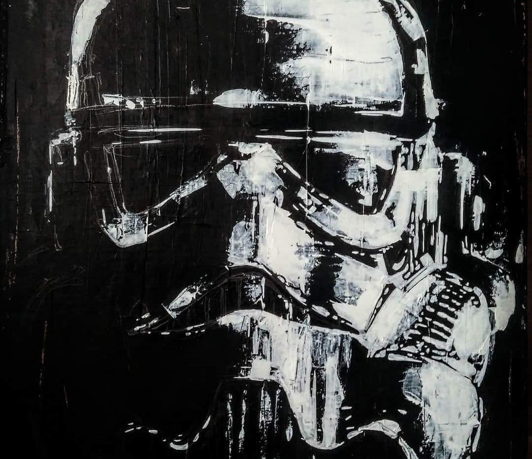 Stormtrooper    JM Abella  39x50cm (2).j