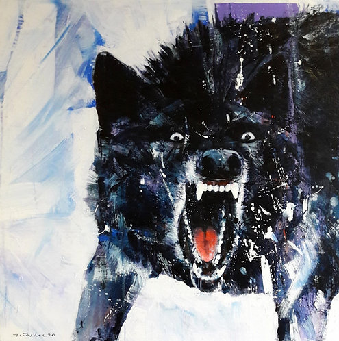 Jean-Charles TOULLEC - Black Wolf