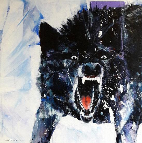 Jean-Charles TOULLEC - Black Wolf
