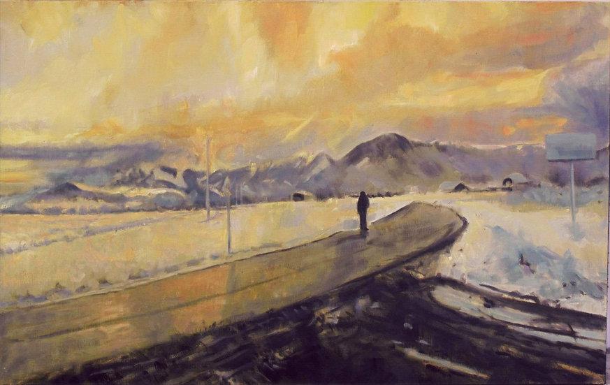 Pierre RIOLLET  P. -  Snowing Landscape