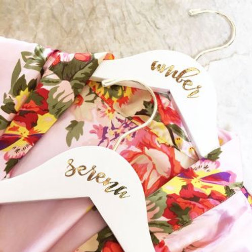 Personalized Flower Girl Hanger