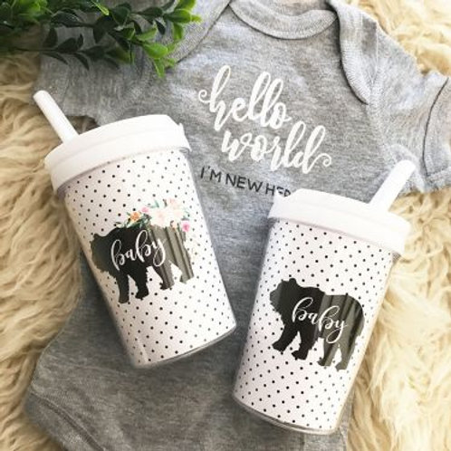Rustic Baby Sippy Cup