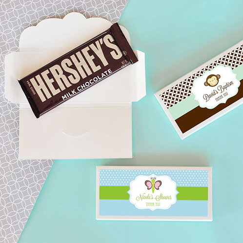 Personalized Baby Animal Candy Wrapper Covers