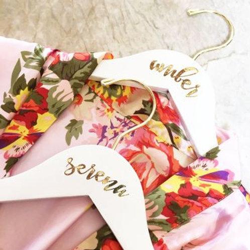 Personalized Bridesmaid Hanger