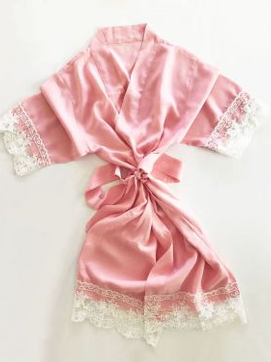 Cotton Lace Child Robes