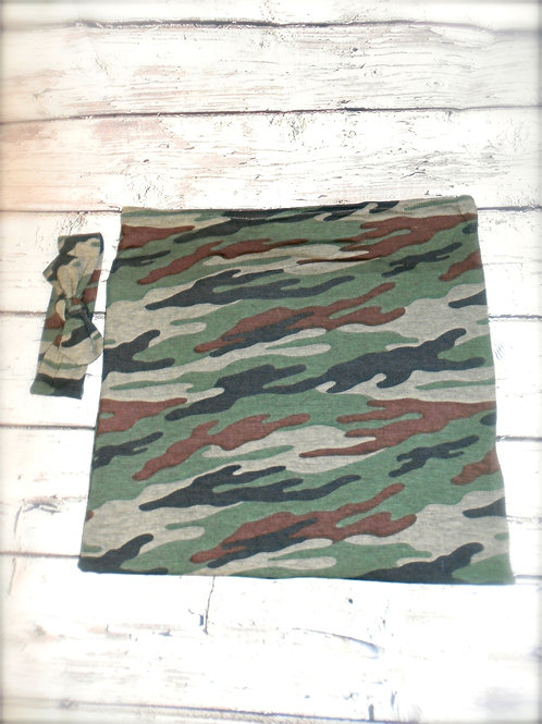 Camouflage Swaddle (girl only)