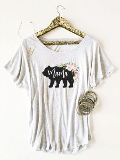 Rustic Baby Shower Shirt - Loose Fit