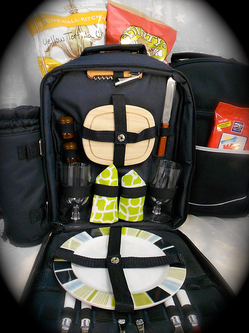 Picnic Backpack for Two #0442