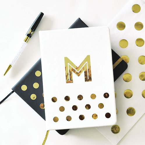 Monogram Journal (White)