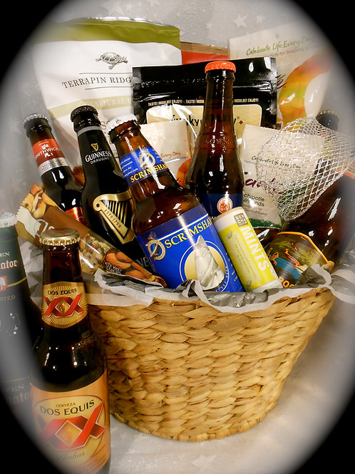 """Cheers"" Beer Basket           #0393"