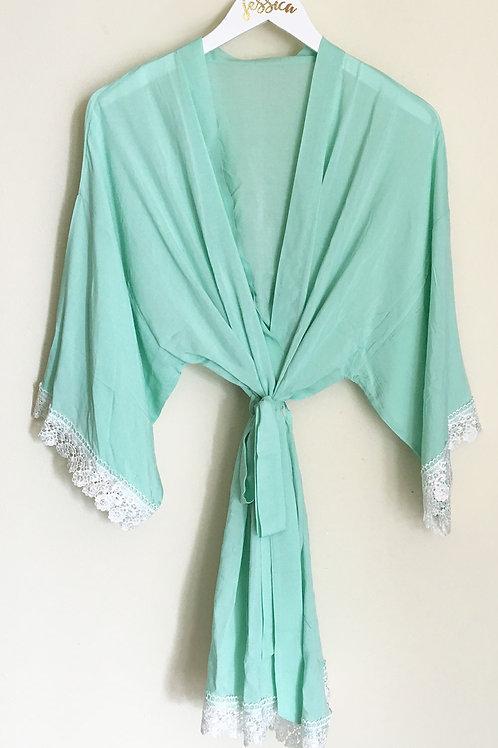 Cotton Lace Robes