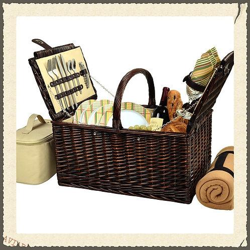 Traditional Picnic Basket                    #0713