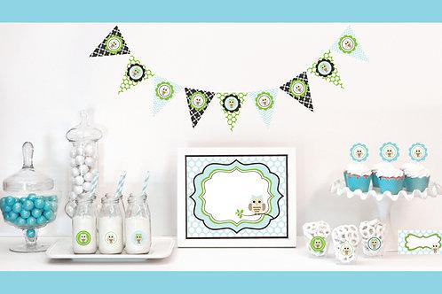 Blue Owl Decorations Starter Kit