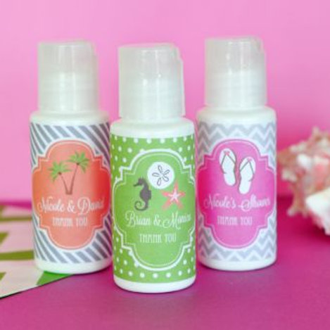 Personalized Wedding Theme Sunscreen