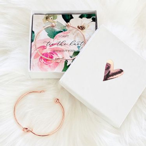 Tie the Knot Bracelet - Floral