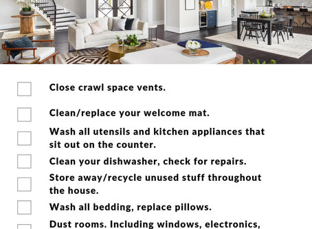 November Home Maintenance Tips!