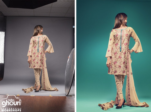 Processing Fashion Catalogues Images