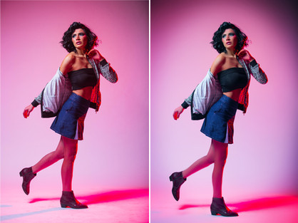 Editing a Fashion Photograph