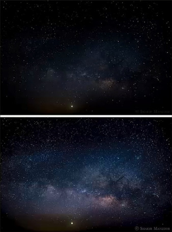 Color Grading AstroPhotography