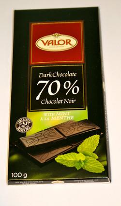 70% noir menthe