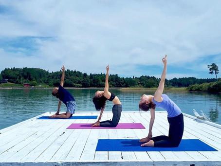 Taeka Nakamoto Yoga class 5/4