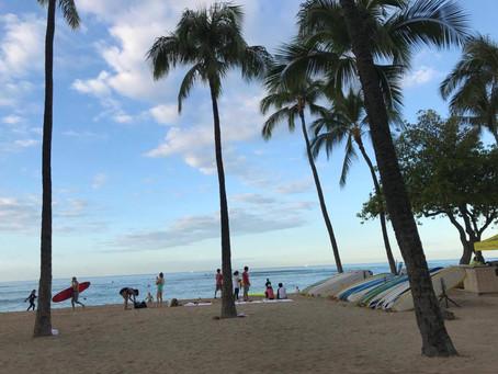 Finished hawaiian time