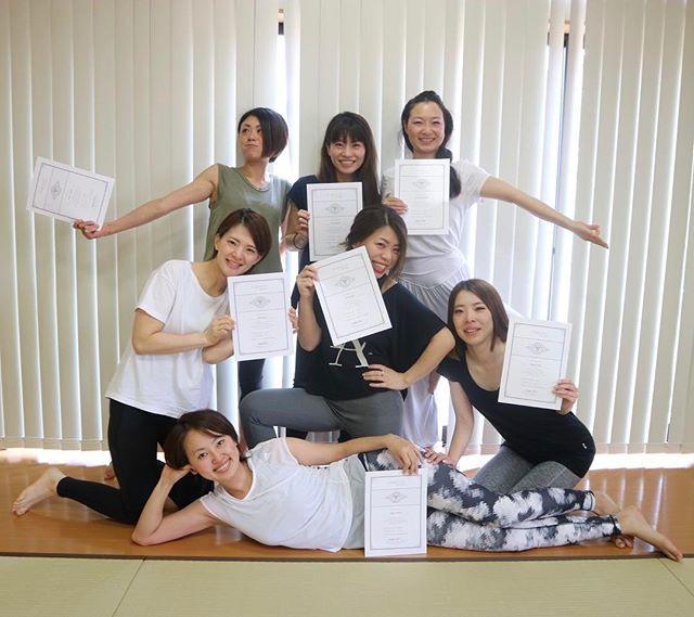 2017年4月RYT200金沢卒業式