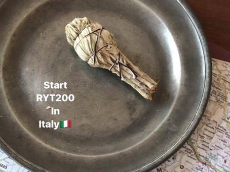 Start RYT200 in Italy