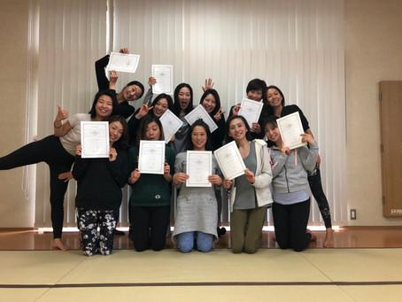 Congratulations!!! RYT200KANAZAWA!!
