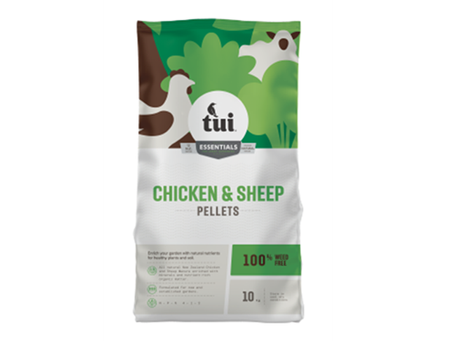 NEW PRODUCT: Tui Sheep and Chicken Pellets 10kg🐑 🐓