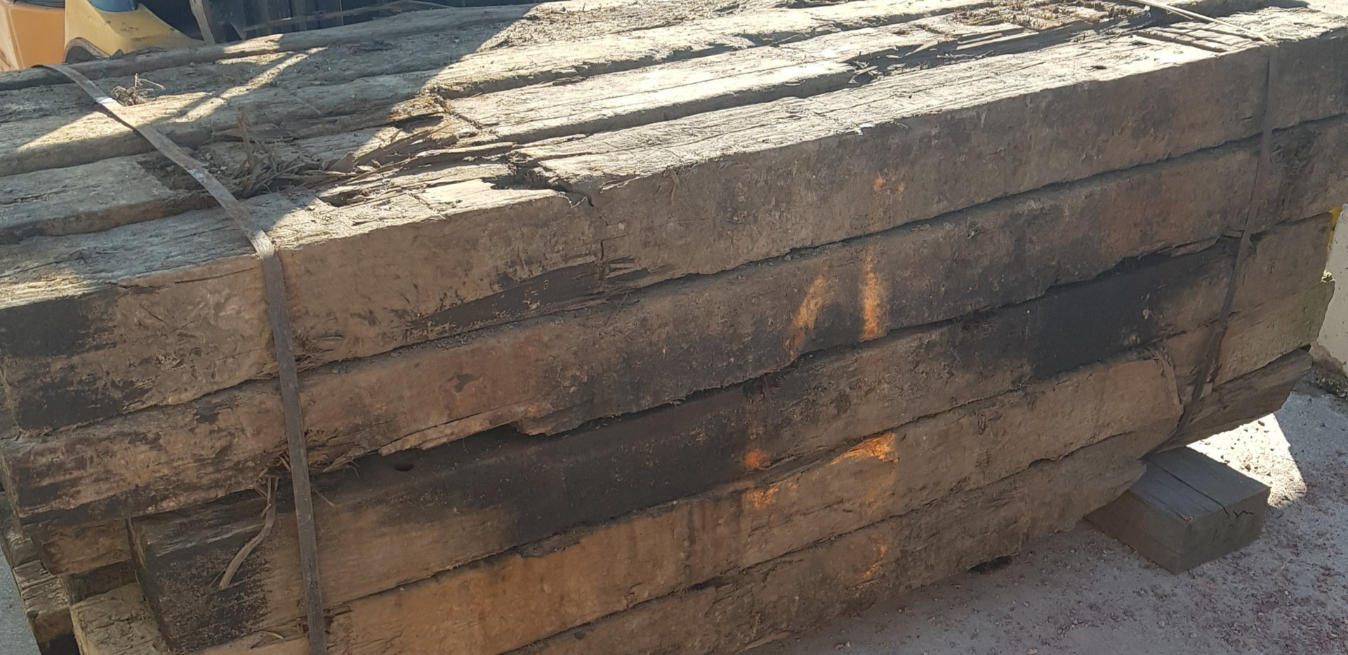 Railway Sleeper Aged Pine