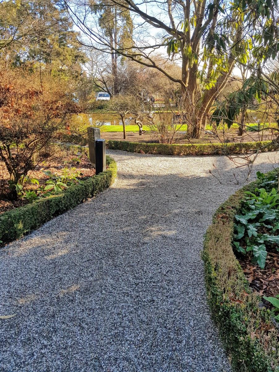 Mona Vale Garden Path Christ