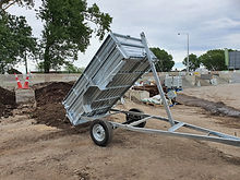 Trailer Hire - Tipping Single Axle