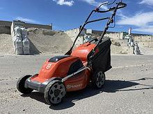 Lawn mower batter light weight