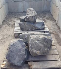 Basalt Black Landscaping Rocks