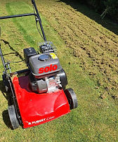 Scarifier – Solo (Small to mid-size lawns – size of a normal lawnmower)