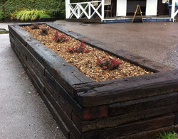 Aged Rail Sleepers Treated Pine