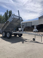 Tandem Tipping Trailer Hire