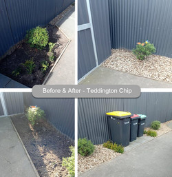 Teddington Chip Before and After