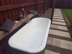 Garden Bath - Teddington Chip