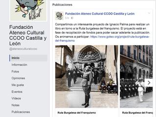 La Fundación Ateneo Cultural de CCOO de Castilla y León