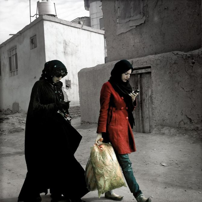 Zalmaï retrata Afganistán 'después de la guerra'